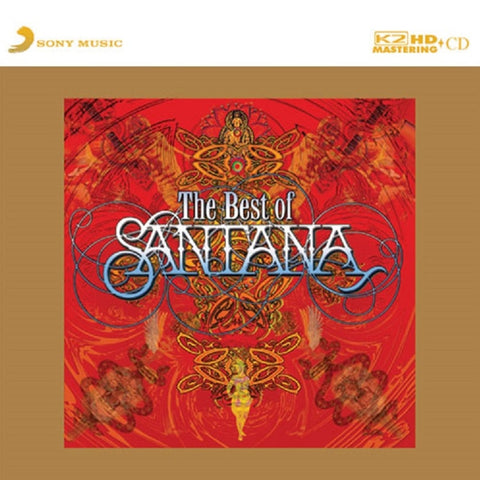 Santana - The Best Of Santana on Limited Edition K2 HD Mastering CD - direct audio