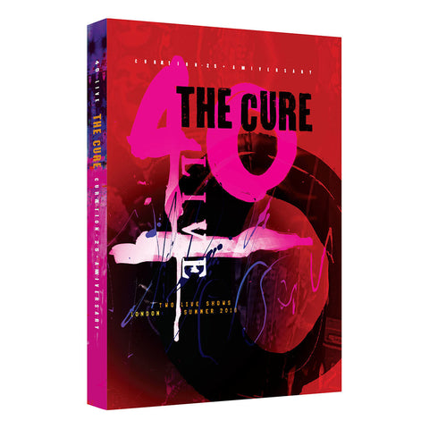 The Cure - Curaetion 25: Anniversary 2DVD - direct audio