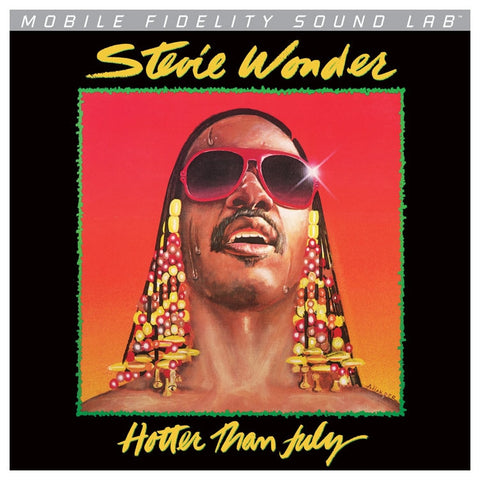 Stevie Wonder - Hotter Than July on Numbered Limited Edition LP from Mobile Fidelity Silver Label - direct audio