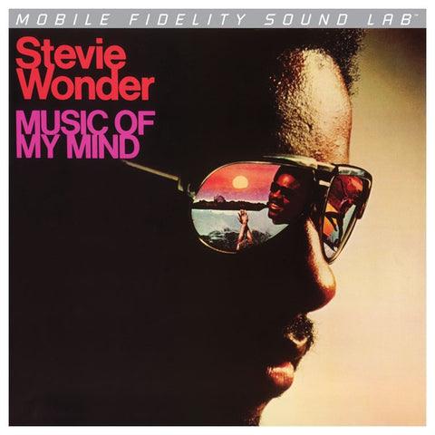 Stevie Wonder - Music of My Mind on Numbered Limited Edition LP from Mobile Fidelity Silver Label - direct audio