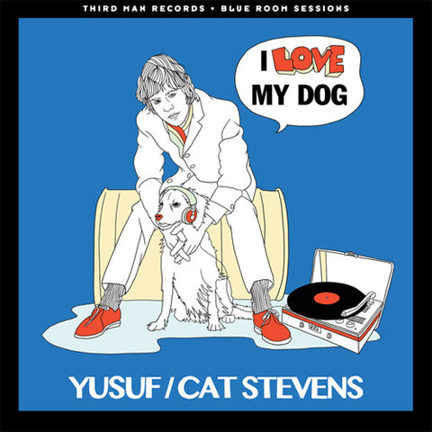 "Yusuf/Cat Stevens - I Love My Dog/Mathew And Son 45RPM 7"" Vinyl"