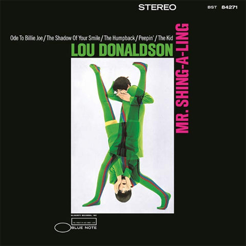 Lou Donaldson - Mr. Shing-A-Ling: Blue Note Tone Poet Series 180g Vinyl LP - direct audio
