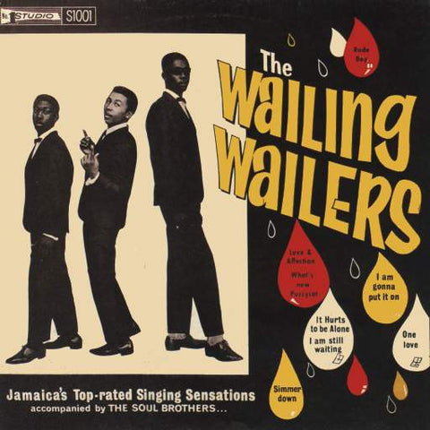 The Wailers - The Wailing Wailers on LP - direct audio