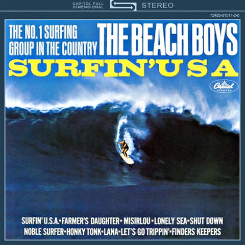The Beach Boys - Surfin' USA on Limited Edition 200g Mono Vinyl LP - direct audio