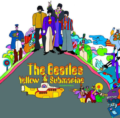 The Beatles - Yellow Submarine on 180g LP - direct audio