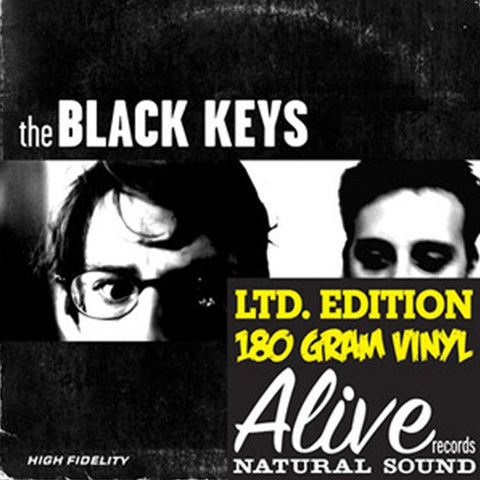 The Black Keys - The Big Come Up on 180g LP - direct audio