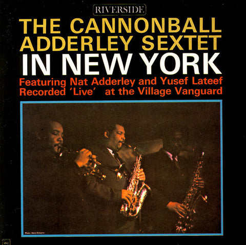 The Cannonball Adderley Sextet - In New York on LP - direct audio