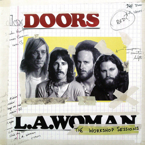 The Doors - LA Woman: The Workshop Sessions 180g 2LP w/ 4th Side Etching - direct audio