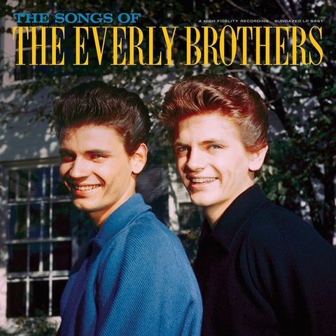 The Everly Brothers - The Songs Of The Everly Brothers on 180g 2LP - direct audio
