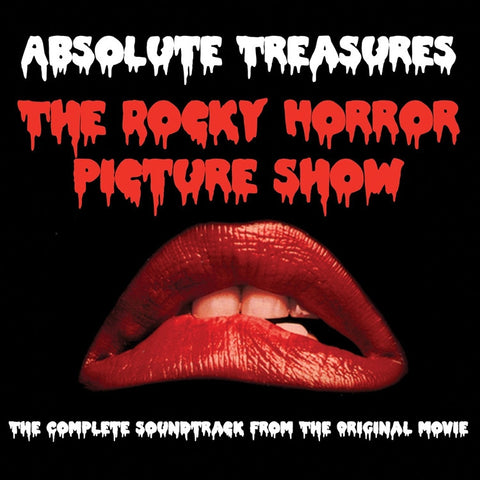 The Rocky Horror Picture Show: Absolute Treasures - Various Artists on Colored 2LP - direct audio