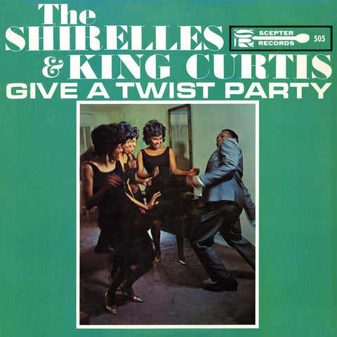 The Shirelles And King Curtis - Give A Twist Party on 180g LP - direct audio