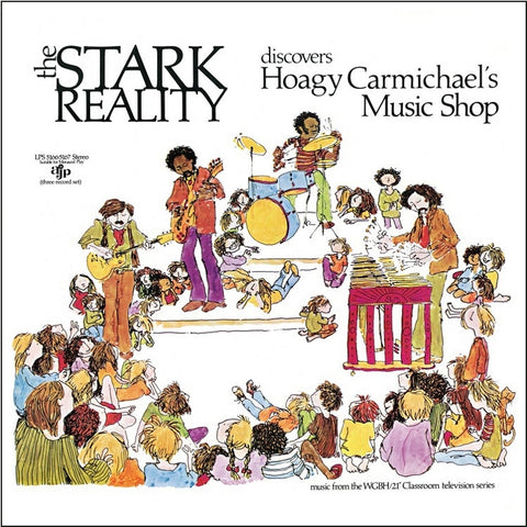 The Stark Reality - Discovers Hoagy Carmichael's Music Shop on 3LP + 56-Page Book + Download - direct audio