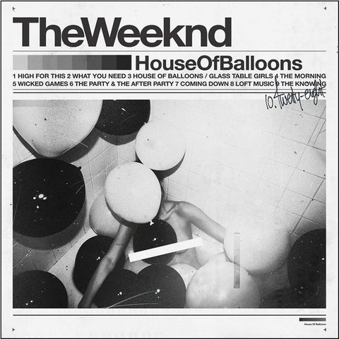 The Weeknd - House Of Balloons on 2LP - direct audio