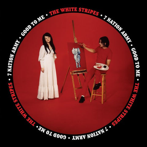 "The White Stripes - Seven Nation Army on 7"" Vinyl - direct audio"