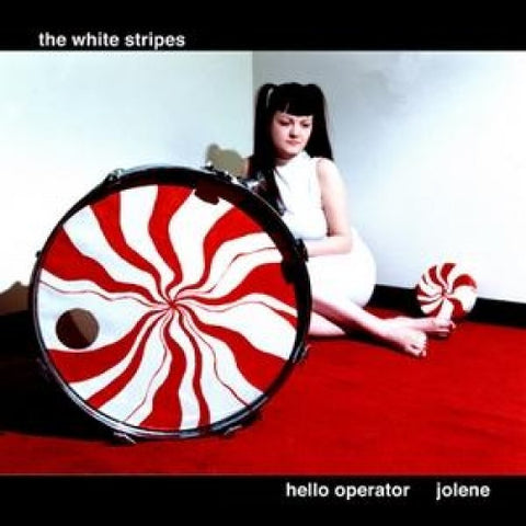 "The White Stripes - Hello Operator/Jolene on 7"" Vinyl - direct audio"