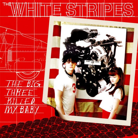 "The White Stripes - The Big Three Killed My Baby on 7"" Vinyl - direct audio"