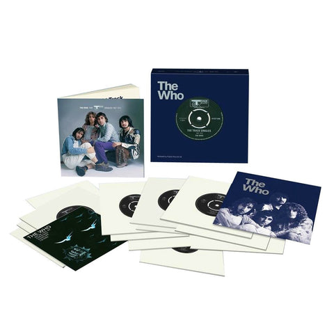 "The Who - The Track Records Singles 1967-1973 Limited Edition 45RPM 15 x 7"" Box Set - direct audio"