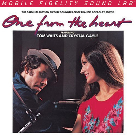Tom Waits and Crystal Gale - One From the Heart Soundtrack on Numbered Limited Edition 180g LP from Mobile Fidelity - direct audio