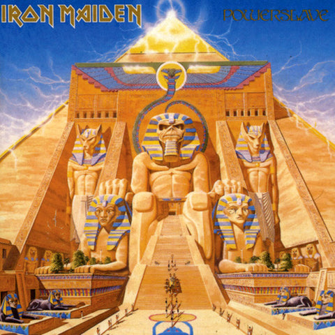 Iron Maiden - Powerslave on 180g LP - direct audio