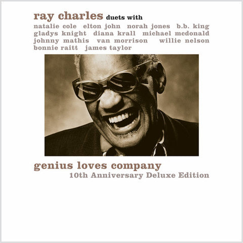Ray Charles - Genius Loves Company: 10th Anniversary Edition on Limited Edition 180g 45RPM 2LP + Download w/ Bonus Tracks - direct audio