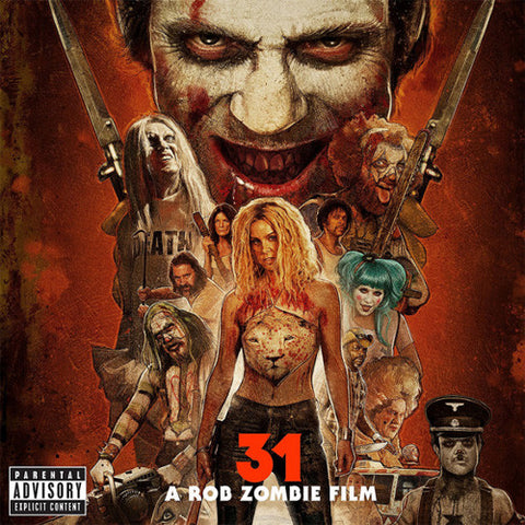 31 - A Rob Zombie Film Original Motion Picture Soundtrack Vinyl LP