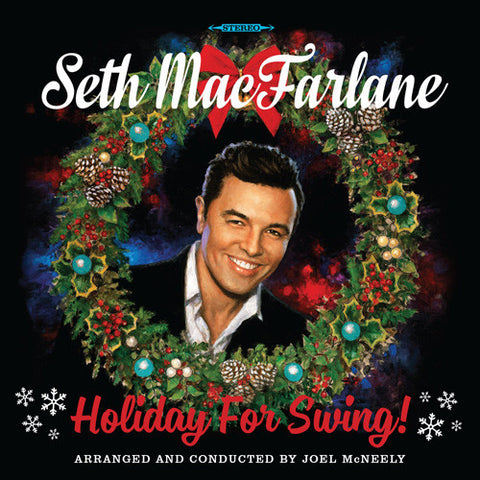 Seth MacFarlane - Holiday For Swing on 180g LP - direct audio