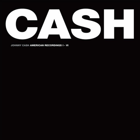 Johnny Cash - American Recordings I-VI on Limited Edition 180g 7LP Box Set - direct audio - 1