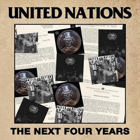 United Nations - The Next Four Years on LP + Download (Awaiting Repress) - direct audio