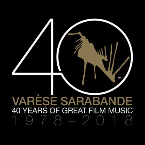 Varese Sarabande: 40 Years of Great Film Music 1978-2018 Vinyl 2LP