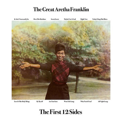 Aretha Franklin The Great Aretha Franklin: The First 12 Sides Import Vinyl LP