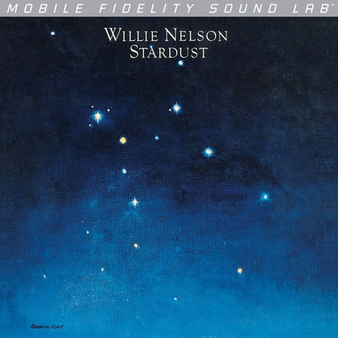 Willie Nelson - Stardust on Numbered Limited Edition LP from Mobile Fidelity Silver Label (Awaiting Repress) - direct audio