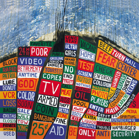 Radiohead - Hail To The Thief on 180g 45RPM Vinyl 2LP + Download - direct audio