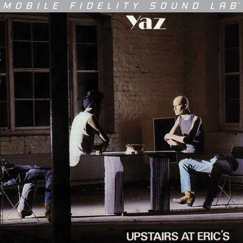 Yaz Upstairs at Eric's on Numbered Limited Edition LP from Mobile Fidelity Silver