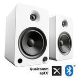 Kanto YU6 Powered Bookshelf Speakers with Bluetooth Technology and Phono Amp