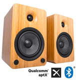 Kanto - YU6 Powered Bookshelf Speakers with Bluetooth Technology and Phono Amp