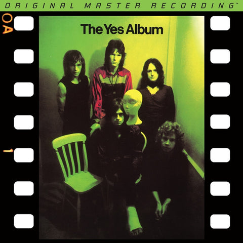 Yes - The Yes Album on Numbered Limited-Edition 24k Gold CD from Mobile Fidelity - direct audio