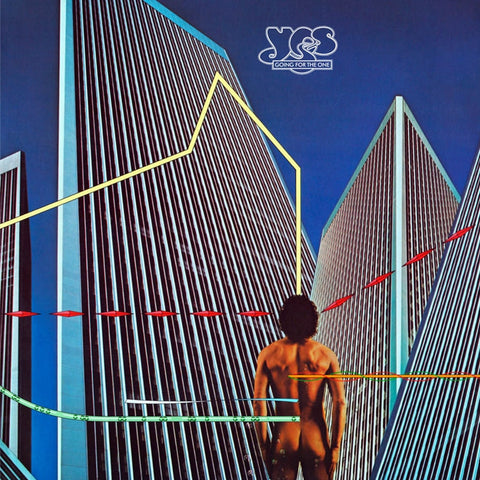 Yes - Going For The One on Limited Edition 180g Blue LP - direct audio
