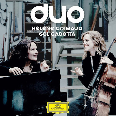 Grimaud - Gabetta - Duo: Schumann, Debussy, Shostakovich, Brahms on Limited Edition 180g 2LP + Download - direct audio