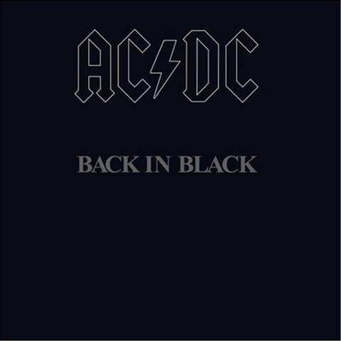 AC/DC - Back in Black on 180g Vinyl LP - direct audio