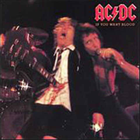 AC/DC - If You Want Blood, You've Got It on Vinyl LP - direct audio