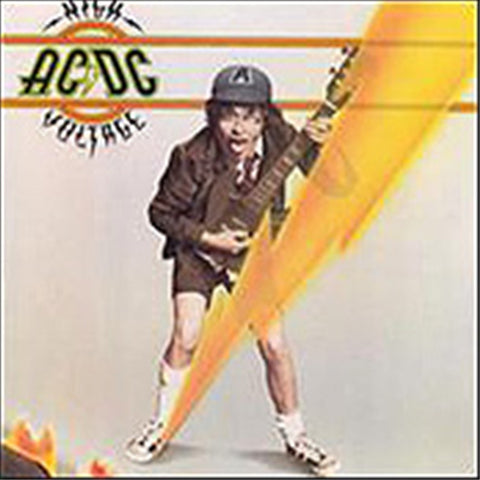 AC/DC - High Voltage on Vinyl LP - direct audio