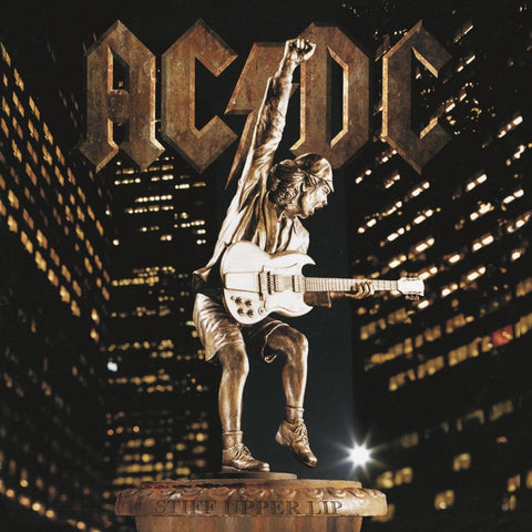 AC/DC - Stiff Upper Lip on 180g LP - direct audio