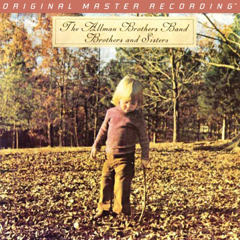 The Allman Brothers Band - Brothers and Sisters on Numbered Limited Edition 180g LP from Mobile Fidelity - direct audio