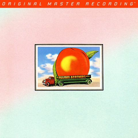 The Allman Brothers Band - Eat a Peach on Numbered Limited Edition 180g 2LP from Mobile Fidelity - direct audio