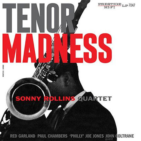 Sonny Rollins - Tenor Madness on Vinyl LP - direct audio
