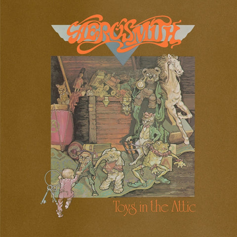 Aerosmith - Toys In The Attic on Numbered Limited Edition 180g LP - direct audio