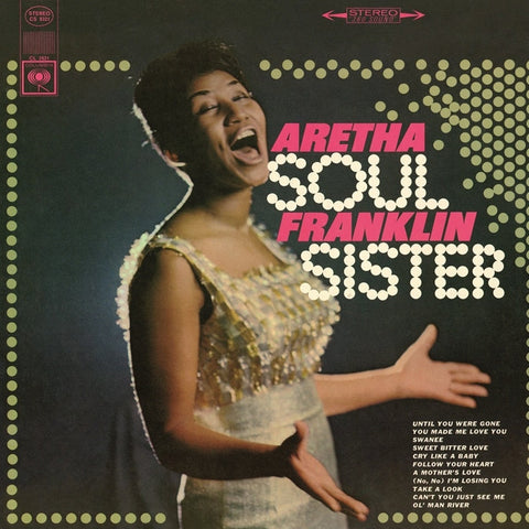 Aretha Franklin - Soul Sister on 180g Import Vinyl LP - direct audio