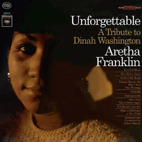 Aretha Franklin - Unforgettable: A Tribute To Dinah Washington 180g Import Vinyl LP (Backordered) - direct audio