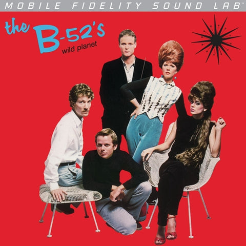 The B-52's - Wild Planet on Numbered Limited Edition LP from Mobile Fidelity Silver Series - direct audio