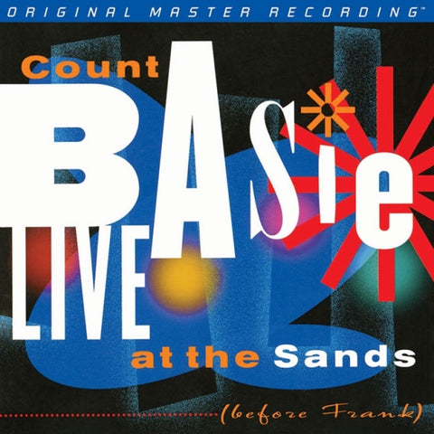 Count Basie - Live at the Sands (Before Frank) on Numbered Limited Edition 180g 2LP from Mobile Fidelity - direct audio